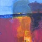 Dusk-Tuscany.-Mixed-Media-On-Canvass.-100x100cm